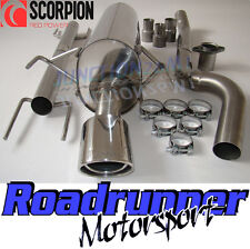 Scorpion Stainless Exhaust System Astra MK5 1.9 Diesel CDTI Non Res No Cut Out