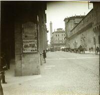 ITALIE Milan c1900, Photo Stereo Grande Plaque Verre VR9L8n7