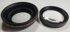 Bower DSLR Pro MC AF Digital Wide Angle Converter Lens W/Macro 0.5X 67MM Japan