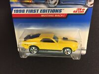 HOT WHEELS 1998 1st EDITION MUSTANG MACH 1 DIECAST FORD die cast cars Made 1997
