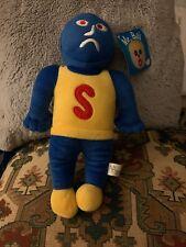 "Mr. Bill Villian Sluggo 13"" Plush 2012 - SNL - NEW WITH TAGS"