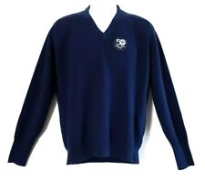 Sugar Bowl 1984 College Football Sweater Mens Size Xl Blue Knit Pullover Vintage
