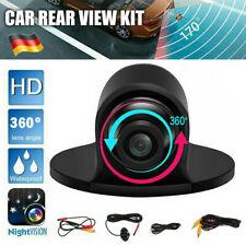 360° HD Mini Auto Rückfahrkamera KFZ Kamera Nachtsicht Einparkhilfe Wasserdicht