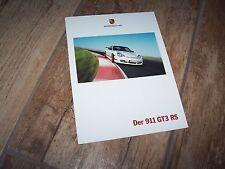 Catalogue /  Brochure PORSCHE 911 GT3 RS 2003  //