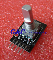 5Pcs Rotary Encoder Module Brick Sensor Development KY-040 Fit For Arduino M60