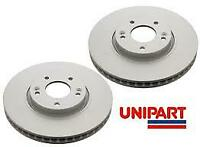 UNIPART 1983 Brake Discs (Pair) Vented Front  FOR MINI R50 R53 R56 R52 R55 R57