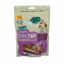 Good Boy Pawsley Chew Chicken Dumbbells Treat Rewards Natural Meat for Dog 100g