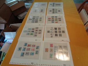 CHINA COLLECTION ON HINGLESS ALBUM PAGES, MINT/USED