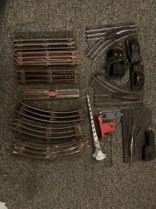 Lionel Track Switches and X-ing Gate Parts Lot O Gauge Vintage