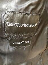 Stunning Emporio Armani Black 2 Piece Suit 100% Virgin Wool