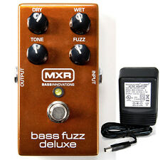 MXR M-84 Bass Fuzz Deluxe w/ 9v power supply free shipping!