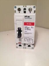 EATON FD 35K Industrial Circuit Breaker 60 amps 2 poles 600 VAC 250 OVDC FD2060