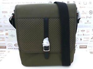 FOSSIL City Bag Mens EVAN Small Satchel Shoulder Oliver Leather Bags BNWT R£189