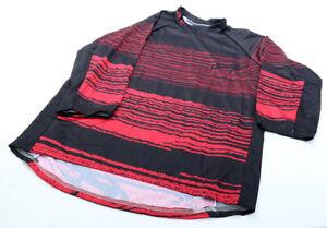 Answer Voler 3/4 Sleeve Jersey Dark Red Birch MTB NEW