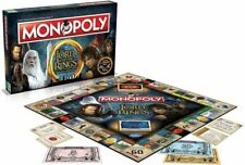 Monopoly - Lord of the Rings Trilogy Edition Property trading game  Brand new
