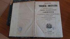sancti thomae aquinatis- commentum in quator libris sentantiarum volumen secundu