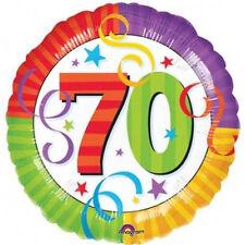Ballon 70 ans anniversaire foil baloon Anagram [115114] decoration salle fetes