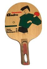 Andro Championship - Rare Vintage - Table Tennis Blade - Anatomic Handle