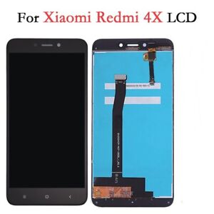 LCD Screen For Xiaomi Redmi 4X Black Replacement Touch Digitizer Glass Assembly