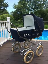 Vintage Excellent Condition Perego Baby Buggy Stroller Carriage 50's/60's