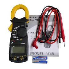 Medidor de Corriente digital con pinza, herramienta multimetro para electricista