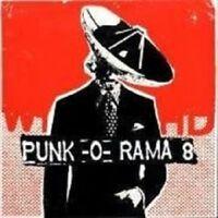 PUNK O RAMA 8 NEW+ 2 CD ROCK MIT BAD RELIGION UVM.