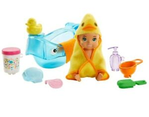 Barbie Bathtime Baby Doll Playset - Skipper Babysitters Inc.