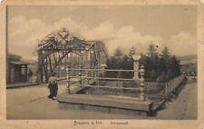 AK Braunau a. Inn Brückenkopf Postkarte 1918