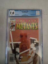 The New Mutants #26 (Apr 1985, Marvel) cgc 7.0