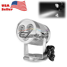 3W 300Lm 12V/24V Spotlight LED Lamp Motorcycle Car Truck Off Road Strobe Light