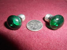 706 14- Volt, Flat Face, Green, S.B. Bulbs for Lionel, Marx, Mth, A.F. & Others