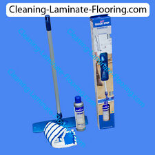 Quick-Step QuickStep laminate floor cleaning kit, cleaner and mop set for wood