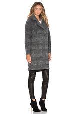 Muubaa Bonner Wool Coat in Black RRP £489