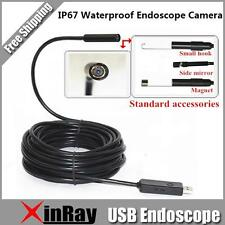 6LED 5.5MM Dia Mini USB Endoscope Camera Support Windows PC and Android Phone