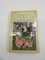 Toulouse Lautrec Pocket Library Great Art Vintage Book Artist 33898 1st Edition