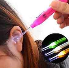 New LED Light Earpick Clean Remover Cleaner Picker Ear Pick Curette Gadget H7