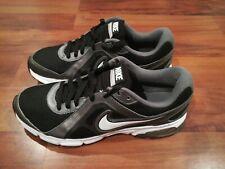 Nike Air Dictate 2 Men Cross Trainin Shoes 488223-001 Black White Grey Size 10.5
