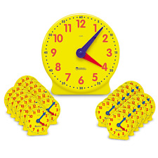 Learning Resources Classroom Clock Kit