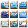 3D Sea Wave Surf Duvet Cover Bedding Set Quilt/Comforter Cover Pillowcase Set