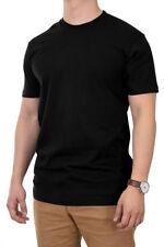 Knocker Mens 100% Cotton Tee T Shirt Crew Neck 5.6 oz Solid Plain Blank S M L XL