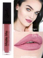 Sleek Matte Me Shabby Chic Liquid Lipstick Lip Cream NEW Pink Nude Dark