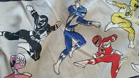 Vintage 1994 Mighty Morphin Power Rangers (Twin Bed) FITTED Sheet Sapan