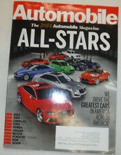 Automobile Magazine Audi RS7 BMW 4-Series June 2014 031115R