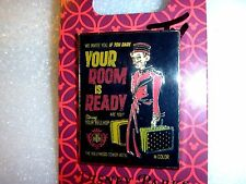 Tower of Terror Bellhop *Your Room is Ready* if you dare. SIGNED by ARTIST 2015