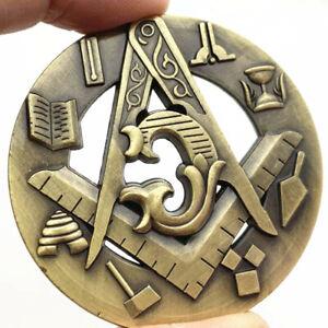 Freemason Souvenir Coins Collectibles Mason Masonic Coin