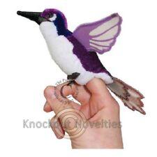 Finger Puppet - Purple Hummingbird Fun Puppet Play Pretend Animal