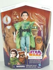 "Princess Leia Organa Wicket Ewok 10"" Doll 2-Packs Star Wars Forces Of Destiny B2"