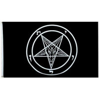 3*5 FT Baphomet Church of Satan FLAG Banner 90x150cm Polyester Decor Flag