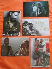 A Star is Born 2018 MOVIE 5 PHOTO SET Lady Gaga Bradley Cooper