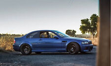 BMW e46 Coupe FRONT and REAR  FENDERS M3 Style  ( not felony form)